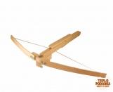 Арбалет из дерева со стрелами